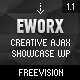 eWorx - Creative Ajax Showcase Wordpress Theme - ThemeForest Item for Sale
