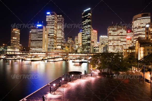 Sydney, Australia skyline - Stock Photo - Images