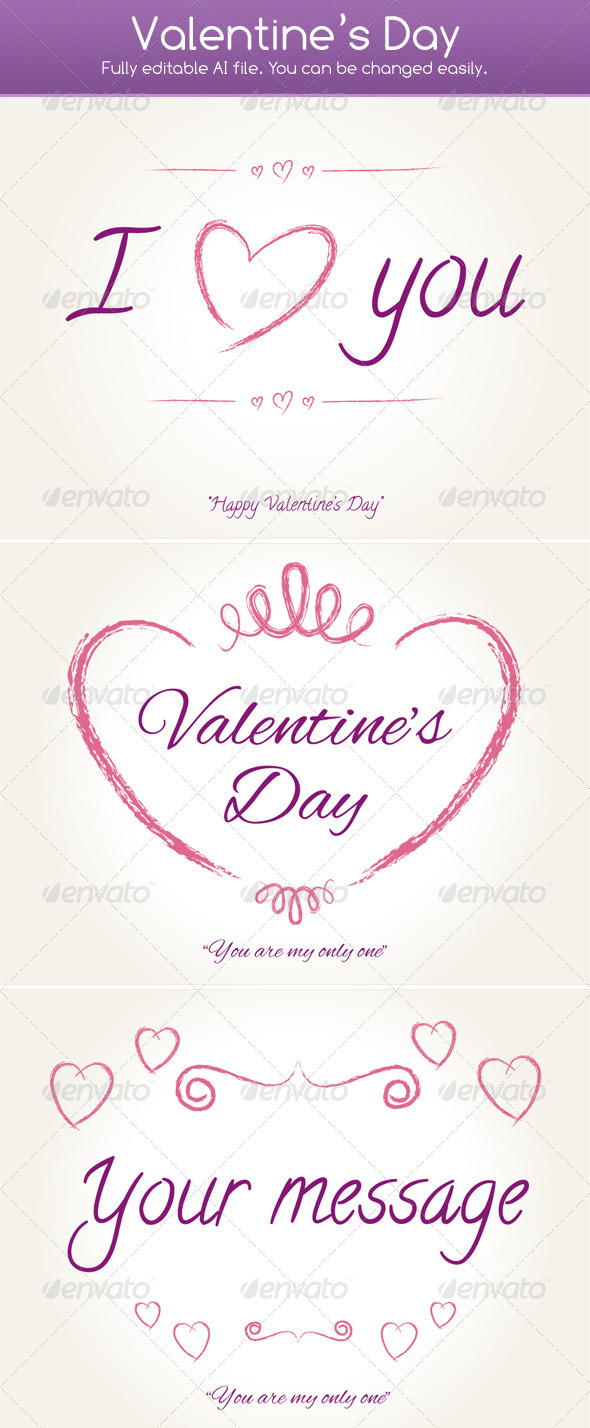 GraphicRiver Valentine s Day 3932720
