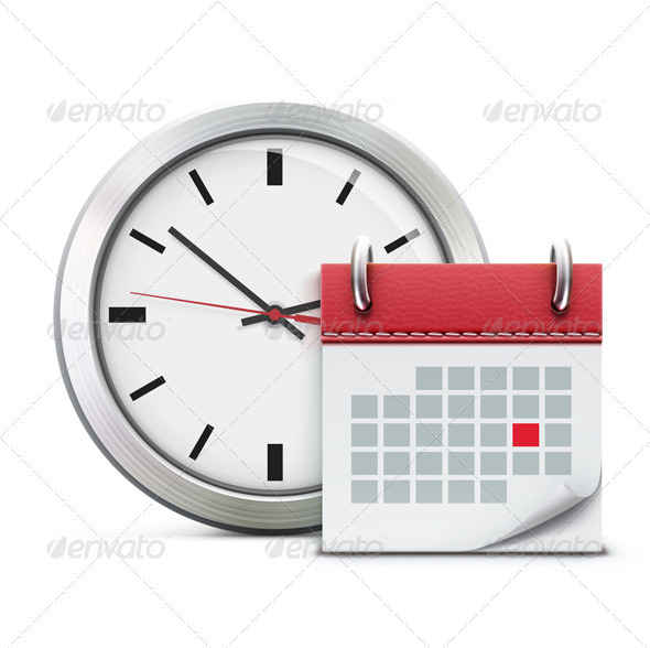 GraphicRiver Timing concept 3932864