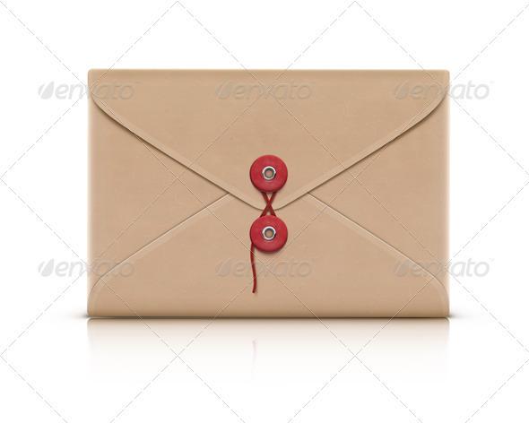 GraphicRiver manila envelope 3933002