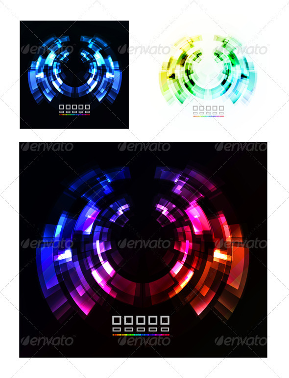 GraphicRiver Abstract Technology Vector Background 3933533
