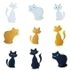Cats, Set - GraphicRiver Item for Sale