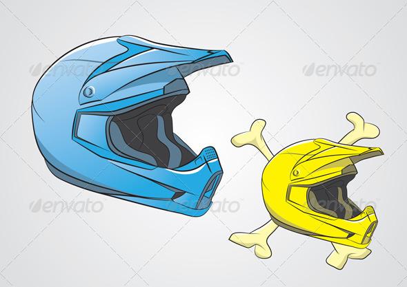 GraphicRiver Helmets Motocross 3933973