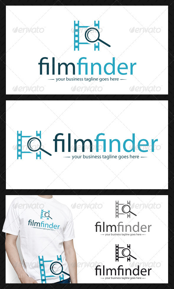 Film Search Logo Template