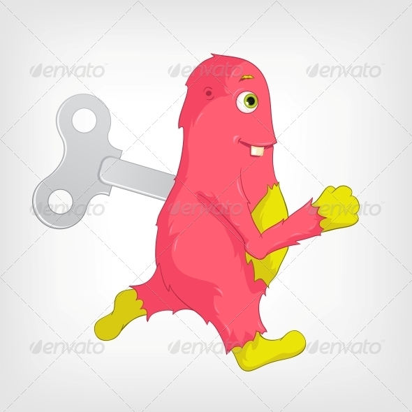 GraphicRiver Funny Monster 3936233