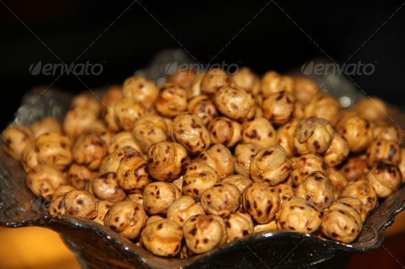Roasted Chickpea - Stock Photo - Images