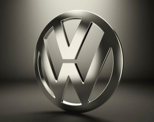 3DOcean Volkswagen Logo 3937884