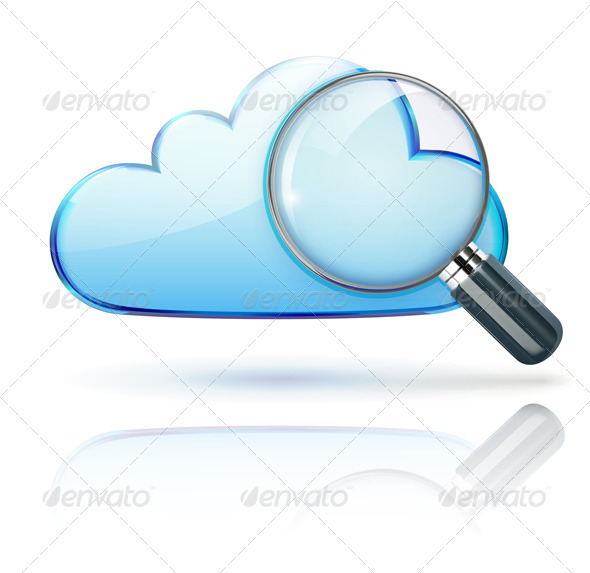 GraphicRiver Internet Cloud Icon 3938812