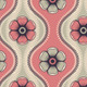 Fashion Pattern with Flowers in Retro Color - GraphicRiver Item for Sale