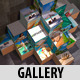 Cubes Gallery Pack - VideoHive Item for Sale