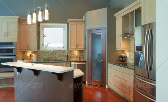 Kitchen Interior Design - Stock Photo - Images