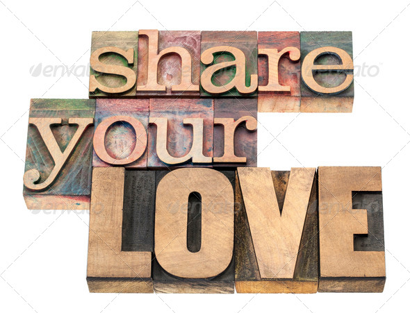 share your love - Stock Photo - Images