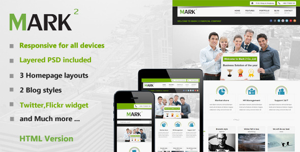 Mark2 Multi-Purpose HTML Template