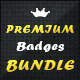 34 Premium Badges - Bundle - GraphicRiver Item for Sale
