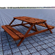 Picnic Bench - 3DOcean Item for Sale