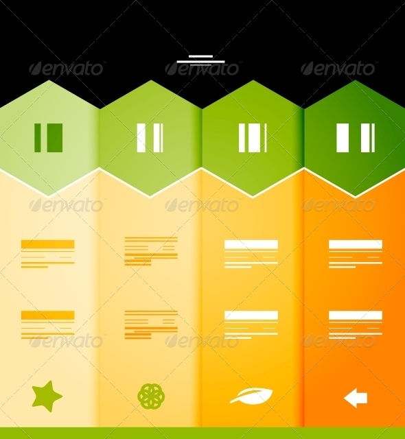GraphicRiver Infographic Numbered Banners 3944625
