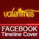 Happy Valentines Fb Timeline Cover - GraphicRiver Item for Sale