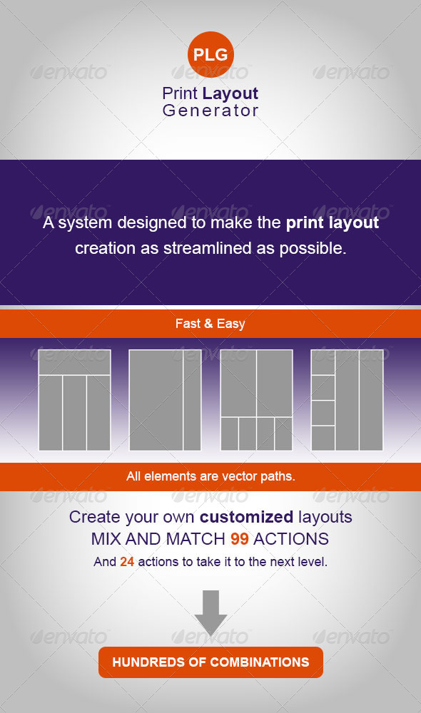 GraphicRiver Print Layout Generator 3945246