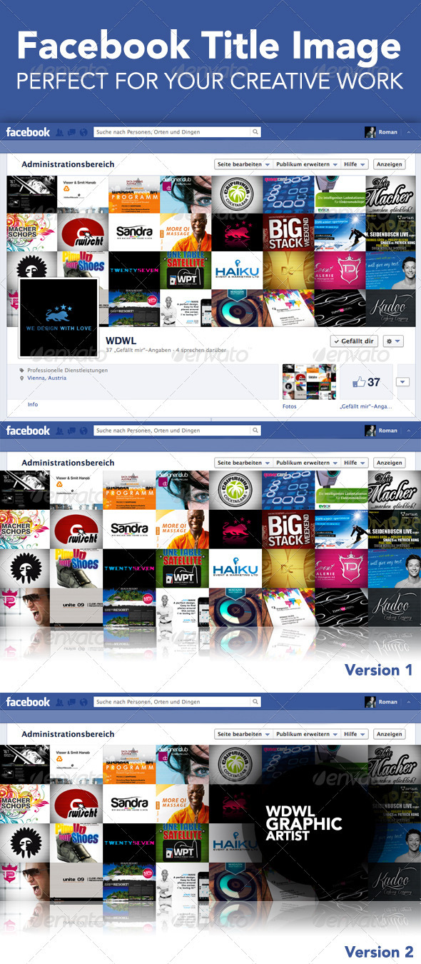 GraphicRiver WorkFlow Fb Cover for your Creative Work 3945385