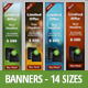 Web Banners - 14 Sizes - GraphicRiver Item for Sale