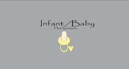 Infant / Baby Flat Vectors