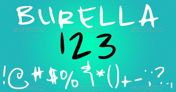 GraphicRiver Burella Font 3945648