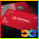 Inspire Business Card - GraphicRiver Item for Sale