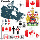 Canada Map - GraphicRiver Item for Sale