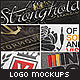 5 Realistic Logo/Branding Mock-ups - Layered PSD's - GraphicRiver Item for Sale