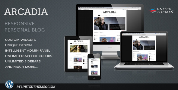 Arcadia Responsive WordPress Blog - Blog / Magazine WordPress