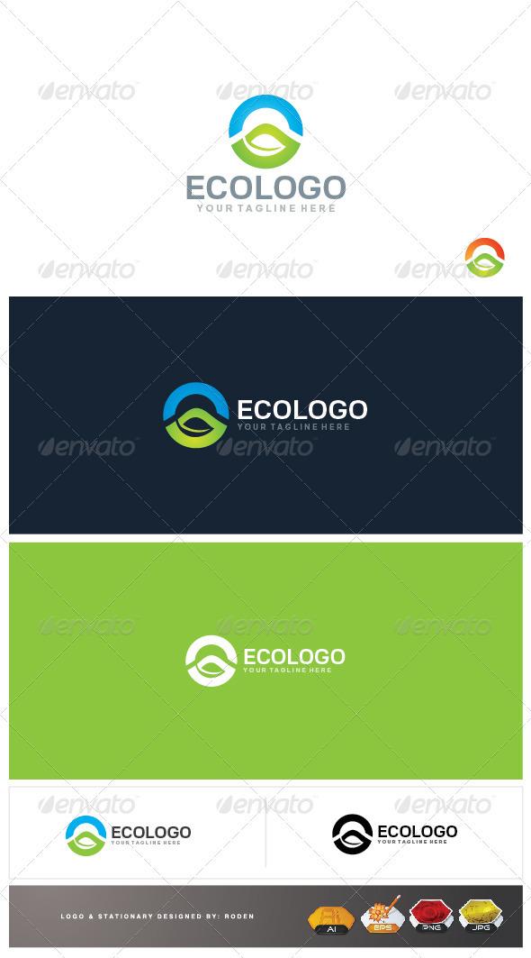 GraphicRiver Eco Logo 3946203