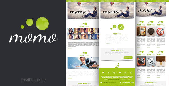 Momo Email Template