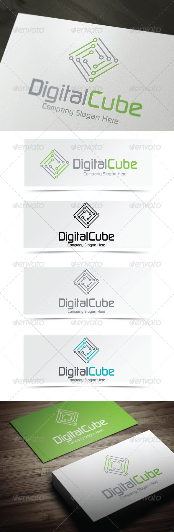 GraphicRiver Digital Cube 3946853