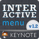 Interactive Menu - Keynote Template Full HD - GraphicRiver Item for Sale