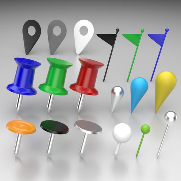 3DOcean Pins 3947248