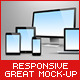 iDevices Responsive Great Mock-Up - GraphicRiver Item for Sale