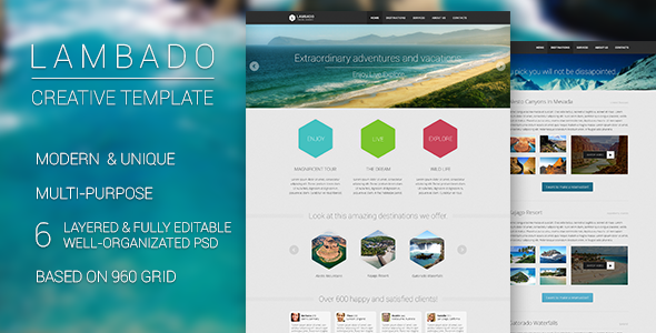 Lambado - Creative Template