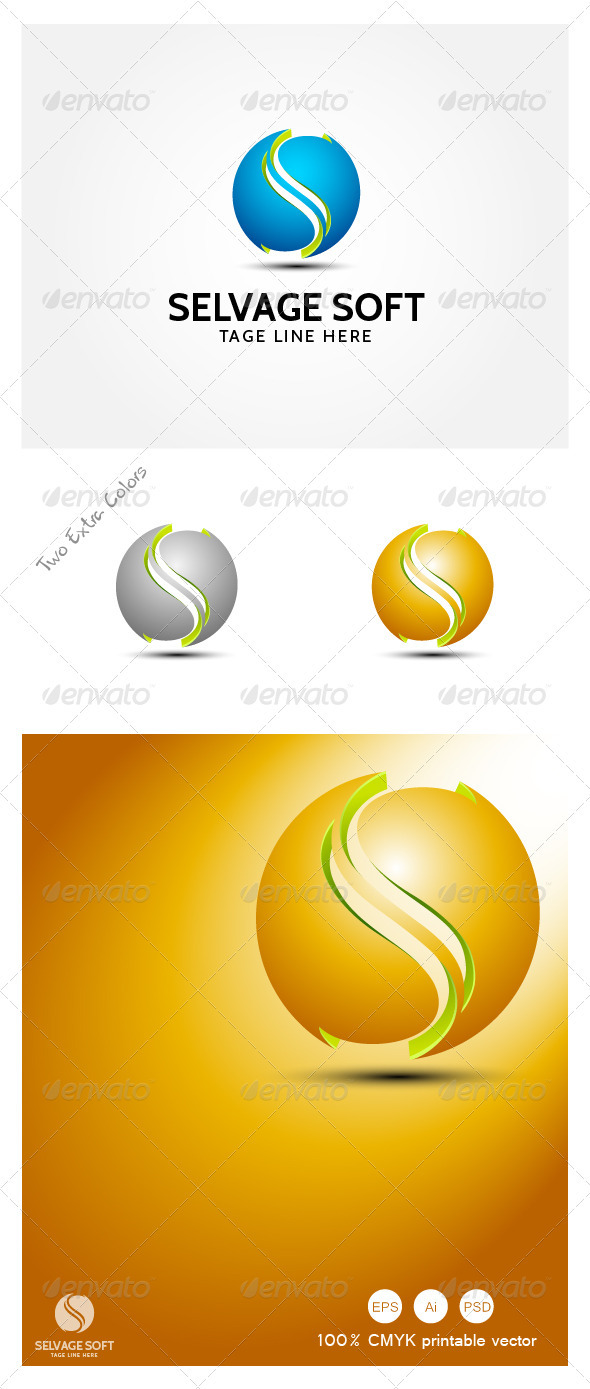 GraphicRiver Selvage Soft Modern logo 3948249