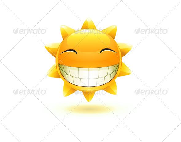 GraphicRiver happy summer sun 3948280