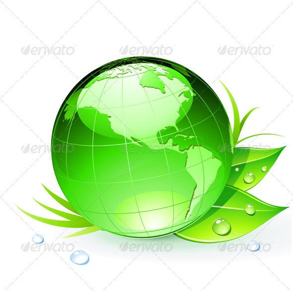 GraphicRiver Eco concept 3948282