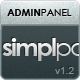 Simplpan Admin Panel Template - ThemeForest Item for Sale