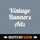 Vintage Elegant Web Banners
