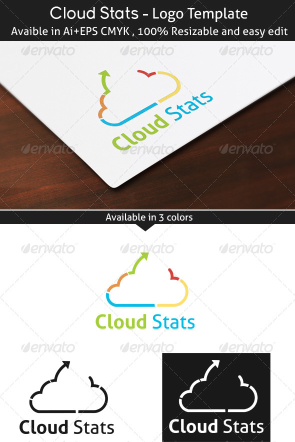 GraphicRiver Cloud Stats 3949217