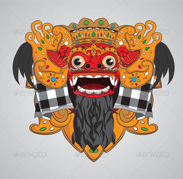 GraphicRiver Barong Mask 3754190
