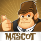 Gorilla Mascot - GraphicRiver Item for Sale