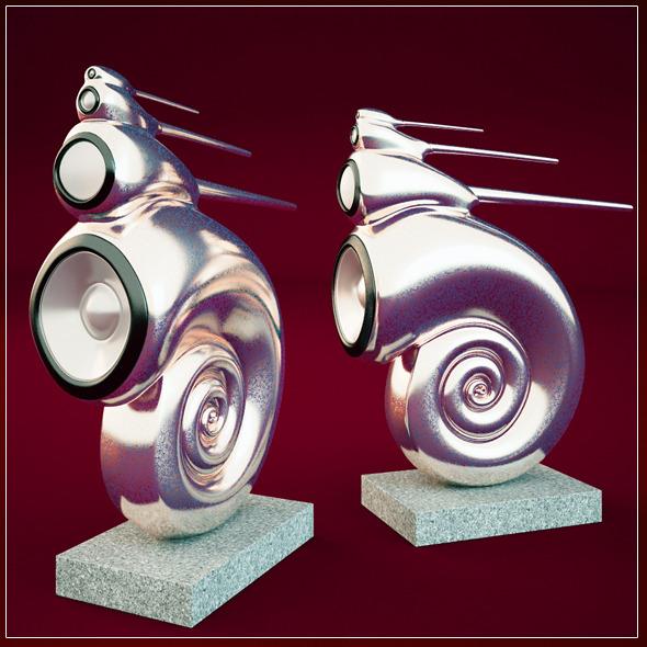 3DOcean B&W Nautilus 3950779