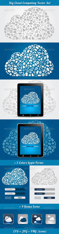 GraphicRiver Cloud Computing 3869122