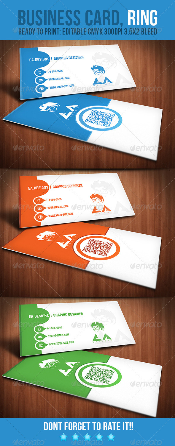 Ring Business Card - Creative Business Cards