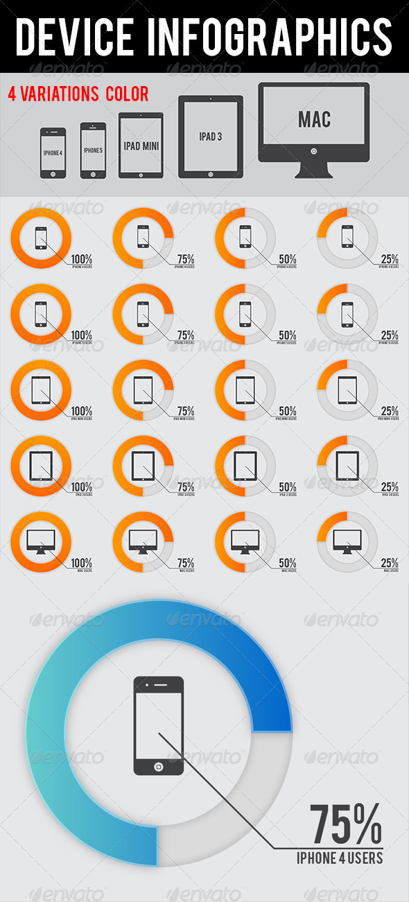 GraphicRiver Device Infographics 3951812